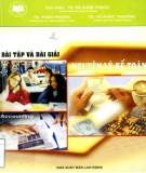 Ebook Bài tập và bài giải nguyên lý kế toán: Phần 1 - TS. Hà Xuân Thạch (chủ biên)