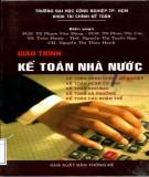 Giáo trình Kế toán nhà nước: Phần 1 - NXB Thống kê