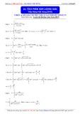 Luyện thi ĐH môn Toán: Tích phân các hàm lượng giác - Thầy Đặng Việt Hùng