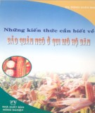 Ebook Những kiến thức cần biết về bảo quản ngô ở quy mô hộ dân: Phần 2 - KS. Đặng Xuân Mai