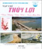 Tạp chí Thủy lợi: Số 320 (1+2-1998)