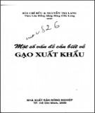 Ebook Một số vấn đề cần biết về gạo xuất khẩu: Phần 1 - Bùi Chí Bửu, Nguyễn Thị Lang