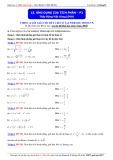 Luyện thi ĐH môn Toán: Ứng dụng của tích phân (Phần 2) - Thầy Đặng Việt Hùng