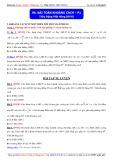 Toán học lớp 11: Bài toán khoảng cách (Phần 1) - Thầy Đặng Việt Hùng