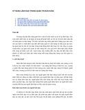 Tài liệu Kỹ năng lãnh đạo trong quản trị bán hàng