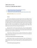 Tài liệu Chiến lược và cơ cấu tổ chức lực lượng bán hàng công ty