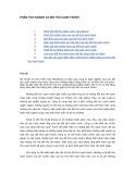 Tài liệu Phân tích ngành và đối thủ cạnh tranh