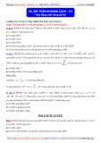 Toán học lớp 11: Bài toán khoảng cách (Phần 2) - Thầy Đặng Việt Hùng