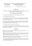 Quyết định 02/2015/QĐ-UBND tỉnh Nam Định
