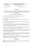 Quyết định 02/2015/QĐ-UBND tỉnh Yên Bái