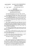 Quyết định 262/QĐ-BCT năm 2015