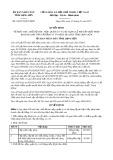 Quyết định 04/2015/QĐ-UBND tỉnh Lạng Sơn