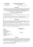 Quyết định 01/2015/QĐ-UBND