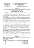 Quyết định 06/2015/QĐ-UBND