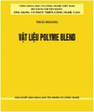 Vật liệu polyme blend: Phần 2
