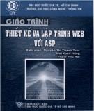Giáo trình Thiết kế và lập trình Web với ASP: Phần 1 - NXB ĐHQG TP.HCM