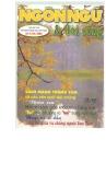 Tạp chí Ngôn ngữ & đời sống số 9/2000