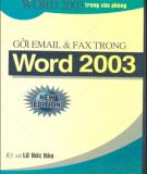 Ebook Hướng dẫn gửi Email và Fax trong Word 2003: Phần 1 - Lữ Đức Hào