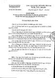 Quyết định 02/2015/QĐ-UBND tỉnh Bình Phước