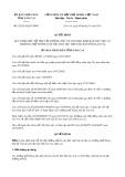 Quyết định 02/2015/QĐ-UBND tỉnh Lào Cai