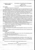 Đề thi thử môn Văn THPT Quốc gia năm 2015 kèm đáp án