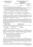 Đề thi thử môn Sinh học THPT Quốc gia năm 2015 (Mã đề 132) kèm đáp án - THPT Hàn Thuyên