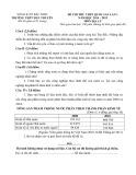 Đề thi thử môn Địa lý THPT Quốc gia năm 2015 kèm đáp án - THPT Hàn Thuyên