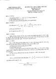 Đề kiểm tra chất lượng cuối năm môn Toán lớp 9 năm 2013