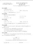 Đề kiểm tra định kỳ lần 1 môn Toán lớp 8 năm 2015
