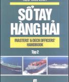 Ebook Sổ tay hàng hải (Tập 2): Phần 1 - NXB Giao thông vận tải