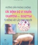 Cách phòng chống các bệnh do vi khuẩn, Chlamydia và Rickettsia từ động vật lây sang người: Phần 2