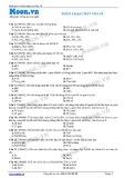 Hóa học lớp 10: Phân loại chất vô cơ