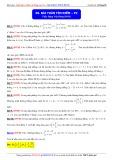 Toán học lớp 10: Bài toán tìm điểm (Phần 2) - Thầy Đặng Việt Hùng