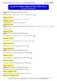 Toán học lớp 10: Lập phương trình đường thẳng có yếu tố góc và khoảng cách- Thầy Đặng Việt Hùng