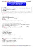 Luyện thi ĐH môn Toán: Quy tắc cộng và quy tắc nhân (Phần 1) - Thầy Đặng Việt Hùng