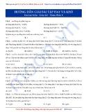 Luyện thi Đại học môn Hóa: Hướng dẫn giải bài tập hay và khó - Kim loại kiềm-kiềm thổ-nhôm (Phần 1)