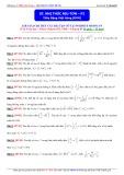 Luyện thi ĐH môn Toán: Nhị thức Niu tơn (Phần 2) - Thầy Đặng Việt Hùng