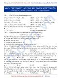 Luyện thi Đại học môn Hóa: Cơ bản-Phương pháp giải bài toán nhiệt nhôm