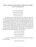 Cảm nhận về đoạn thơ trong bài Đây thôn Vĩ Dạ