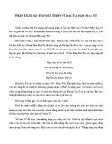 Hướng dẫn Phân tích bài thơ đây thôn Vĩ Dạ của Hàn Mặc Tử