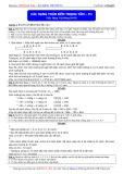 Luyện thi ĐH môn Toán: Các dạng toán đếm trọng tâm (Phần 1) - Thầy Đặng Việt Hùng