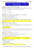 Luyện thi ĐH môn Toán: Các dạng toán đếm trọng tâm (Phần 3) - Thầy Đặng Việt Hùng