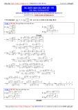 Toán học lớp 11: Giới hạn của hàm số (Phần 3) - Thầy Đặng Việt Hùng