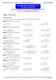 Toán học lớp 11: Giới hạn của hàm số (Phần 4) - Thầy Đặng Việt Hùng
