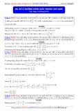 Toán học lớp 10: Xử lí đường phân giác trong tam giác - Thầy Đặng Việt Hùng