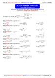 Toán học lớp 11: Giới hạn hàm lượng giác - Thầy Đặng Việt Hùng