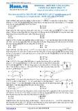 Chuyên đề LTĐH môn Vật lý: Biến đổi điện năng trong dao động điện từ