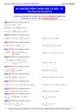 Luyện thi ĐH môn Toán: Phương trình lượng giác cơ bản (Phần 1) - Thầy Đặng Việt Hùng