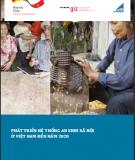 Ebook Phát triển hệ thống an sinh xã hội ở Việt Nam đến năm 2020: Phần 1