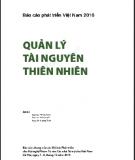 Báo cáo phát triển Việt Nam 2010 - Quản lý tài nguyên thiên nhiên: Phần 1